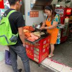 Что мы ели в Шанхае и в городе Иу. Статья первая.