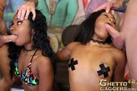 Ghetto Gaggers Traczy Kush & Bayson Crosse