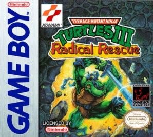 TMNT 3 Radical Rescue Game Boy cover