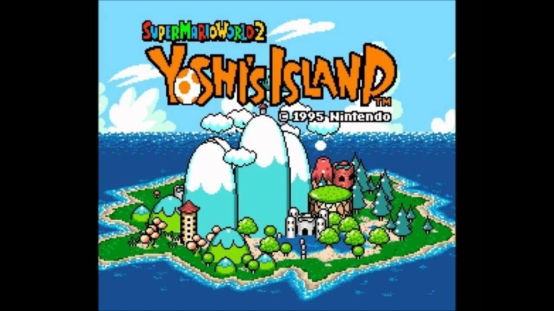 Super Nintendo Games on Switch - Yoshi's Island
