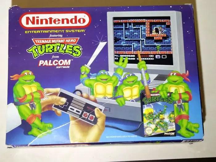 TMNT NES edition