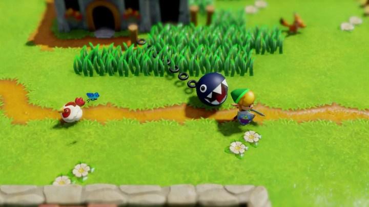 Zelda Link's Awakening chain chomp