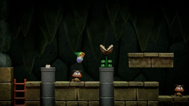 Zelda Link's Awakening Link jumping
