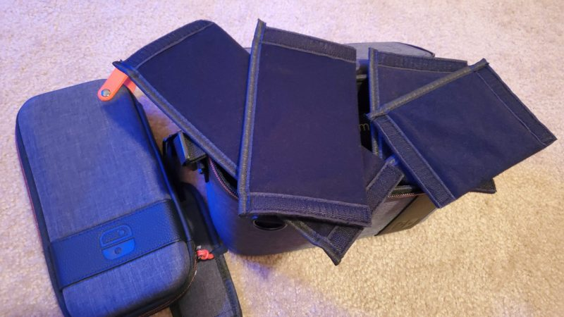 Pull-N-Go Switch case partitions