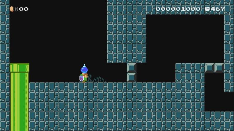 Mario Maker 2 Zelda update link bombs