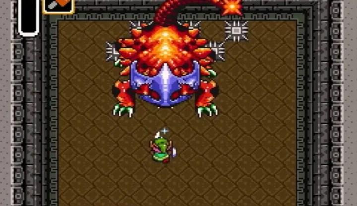 Legend of Zelda Bosses - Helmasaur King