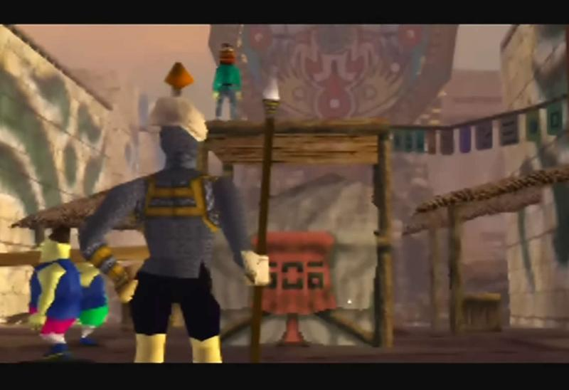 Clock Town - Legend of Zelda: Majora's Mask N64