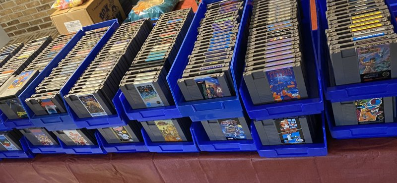 Retro Game Treasure Review - RGT's retro game inventory