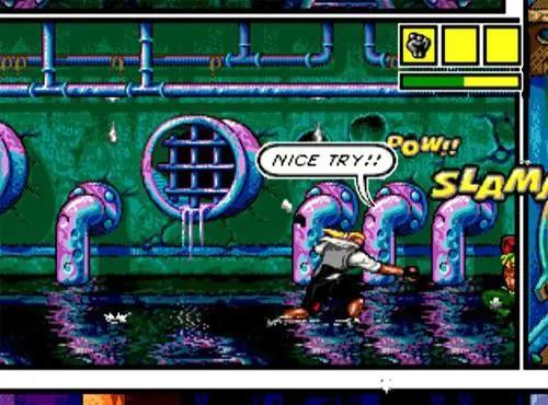 Top 3 Underrated Sega Genesis Games - Comix Zone gameplay