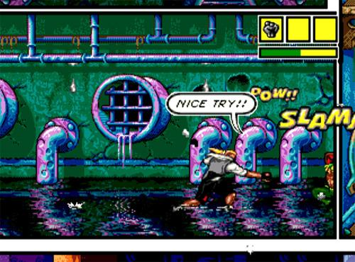 Top 3 Underrated Sega Genesis Games - Comix Zone gameplay