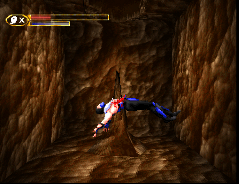 Terrible PS1 games - Mortal Kombat Mythologies Sub Zero