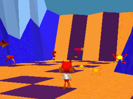 Ugly Bubsy 3D screenshot