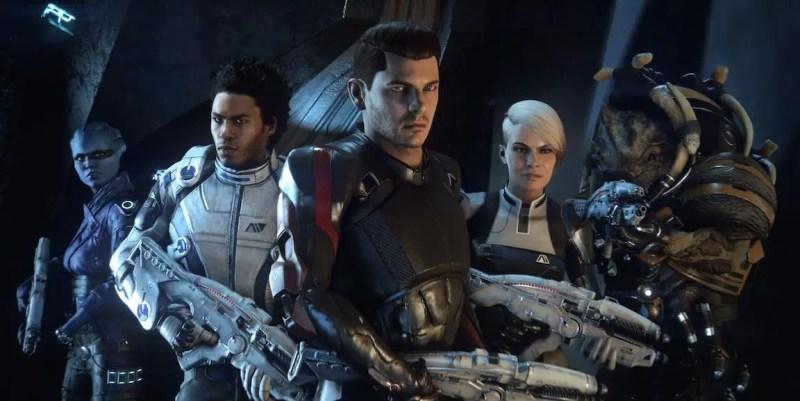 Mass Effect: Andromeda crew