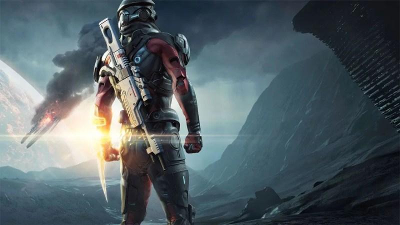 Mass Effect ship crashing