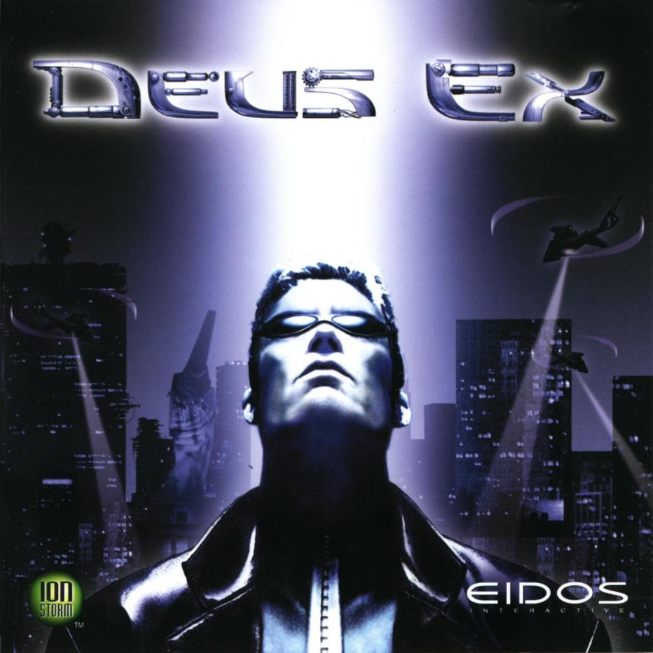 Deus Ex 20th anniversary original game art