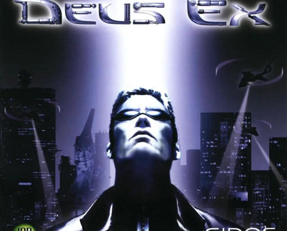 Deus Ex 20th anniversary original game art