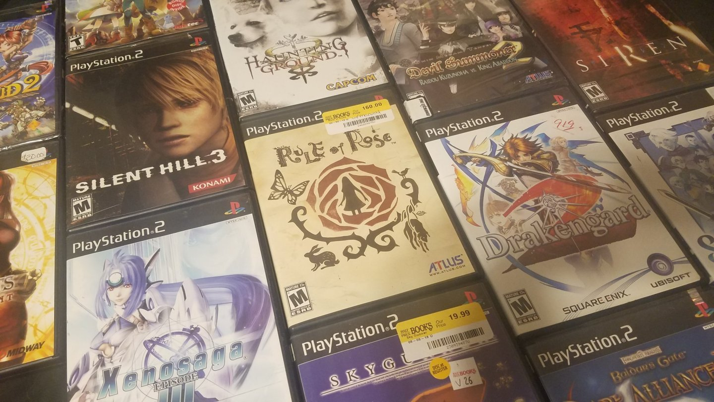 Expensive PS2 games