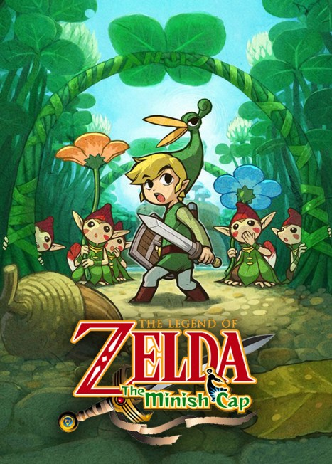 Legend of Zelda Minish Cap promo art