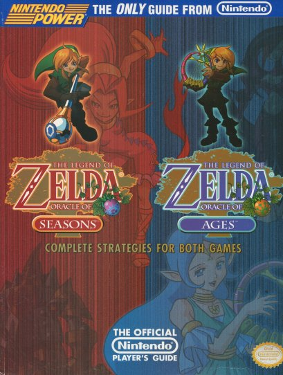 Legend of Zelda Oracle of Seasons and Ages guide cover art