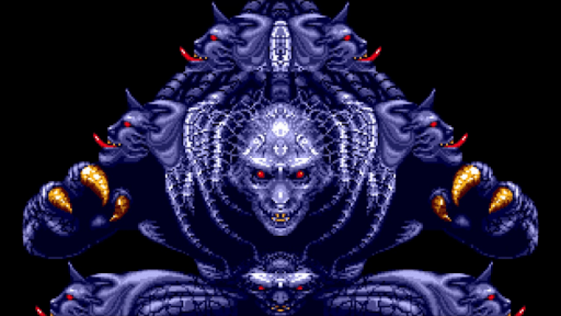 Phantasy Star III Boss