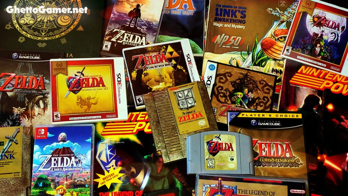 Every Legend Of Zelda Game Ranked By Sales Ghetto Gamer