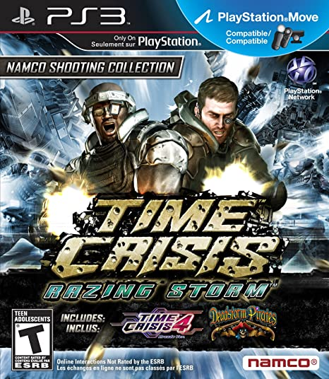 PS3 Games that will get expensive: Time Crisis Razing Storm