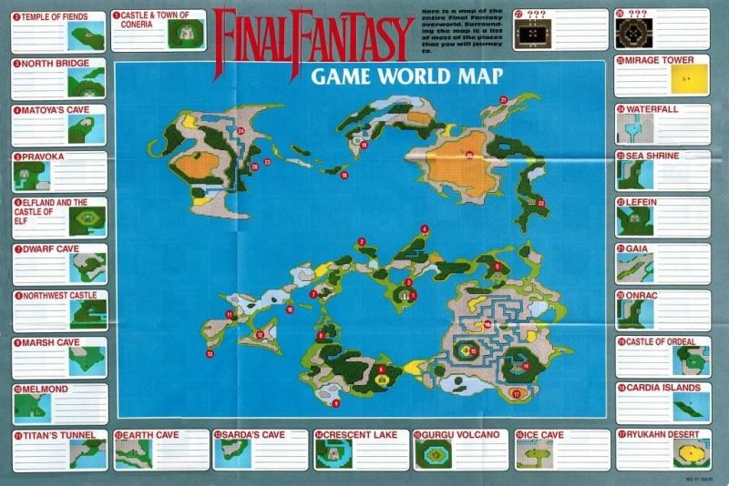 final fantasy map