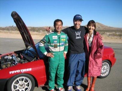 12/20/06 - Crashing the Hot Version American Touge 3 video shoot