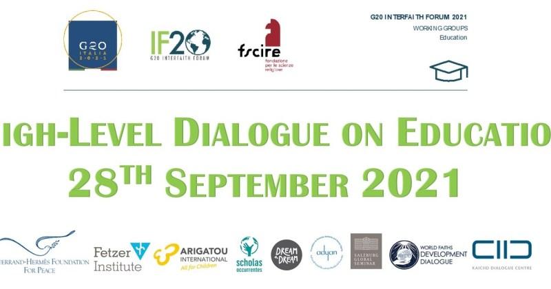 G20 Interfaith Forum High-Level Dialogue on Education