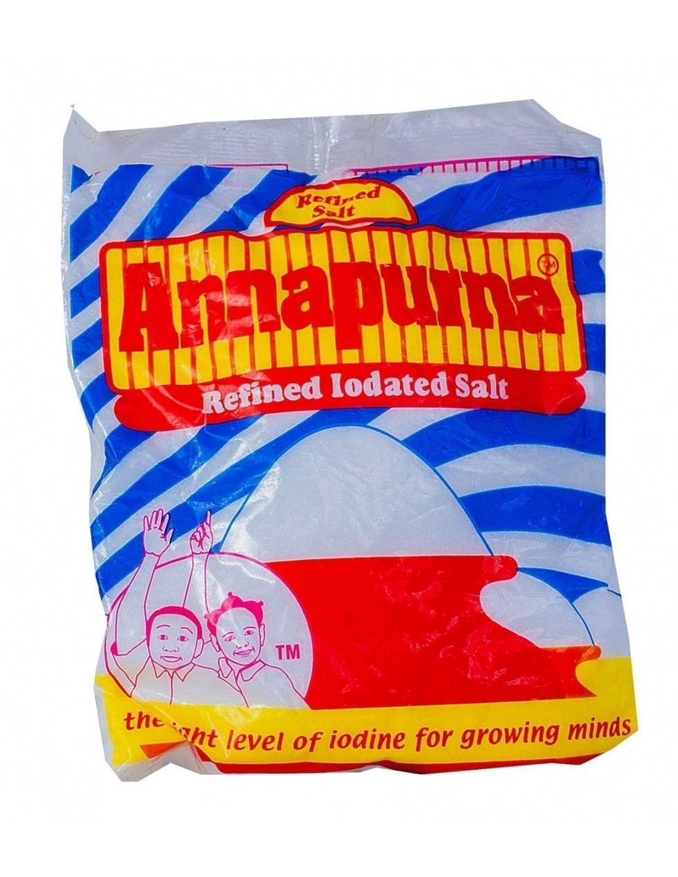 Annapurna Refined Iodated Salt