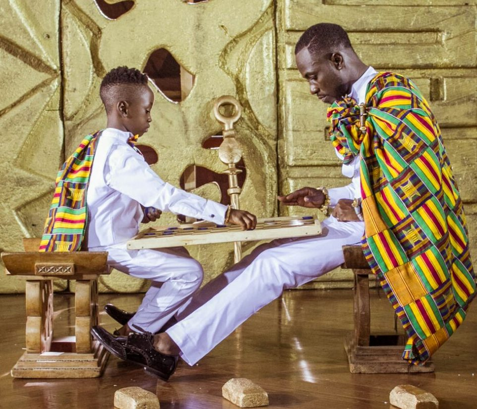 Okyeame Kwame Finally Reacts To His Son's Comparison To D Black