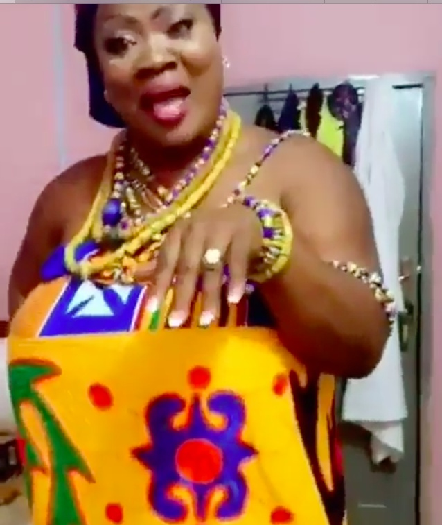 Ghanaian Actress Mercy Asiedu And Nana Agyemang Badu Finally Tie The Knot