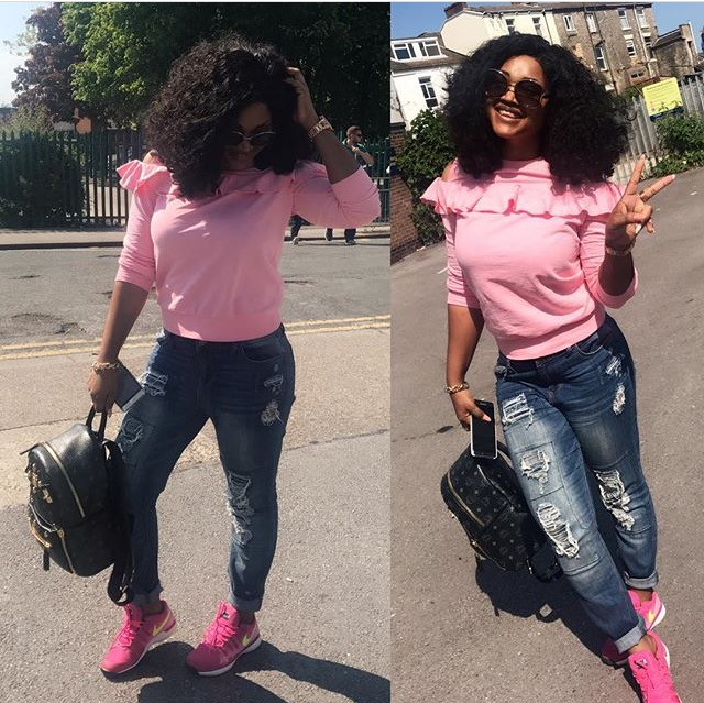 Mercy Aigbe Radiates In The Most Adorable Way, Months After Domestic Violence Troubles