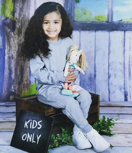 Chris Brown Shares Adorable Photo Of His Daughter To Celebrate Her Birthday