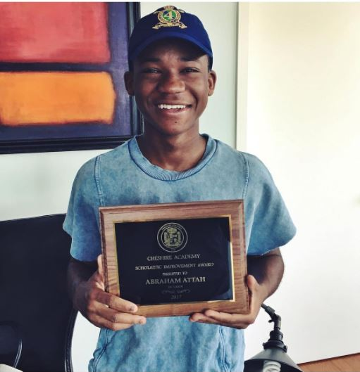 Genius: Abraham Attah Scores 4.0 Grade Point In US School