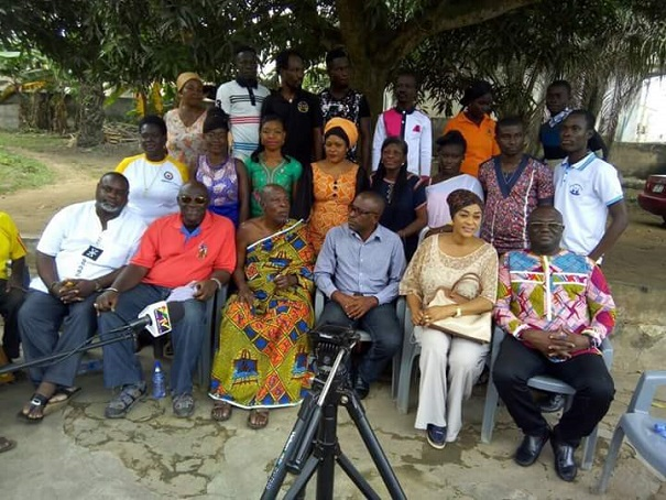 Ghana Actors Guild Donates to Super OD