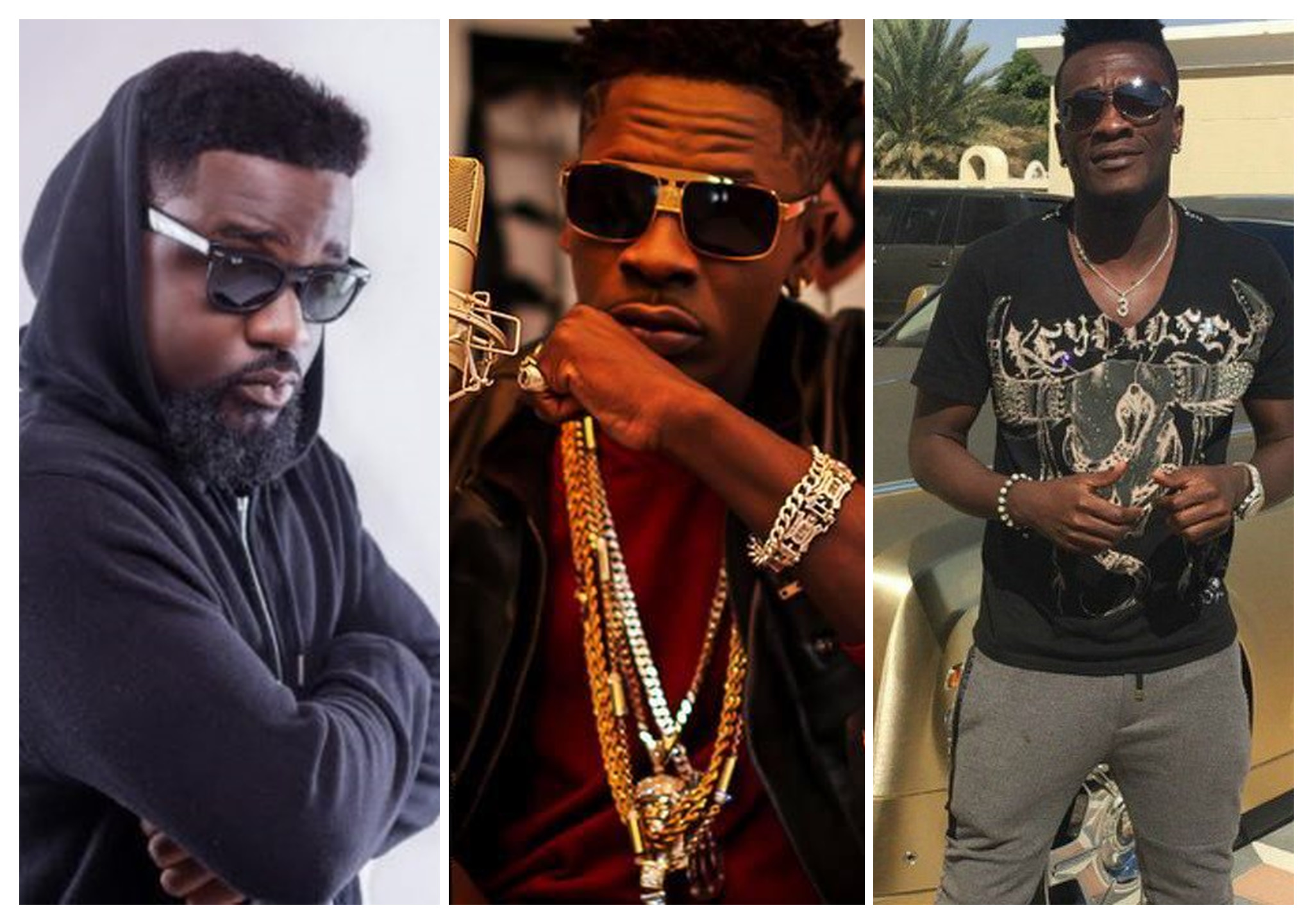 Shatta Wale, Sarkodie, Asamoah Gyan, Others Make 2017 Most Influential Young Africans List