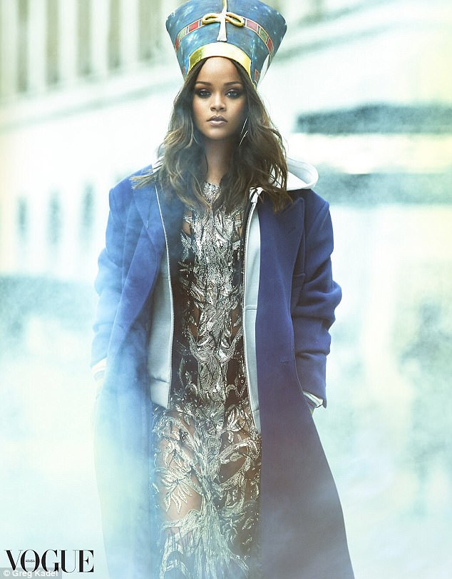 Rihanna Pays Homage To Ancient Egyptian Queen For Vogue Arabia