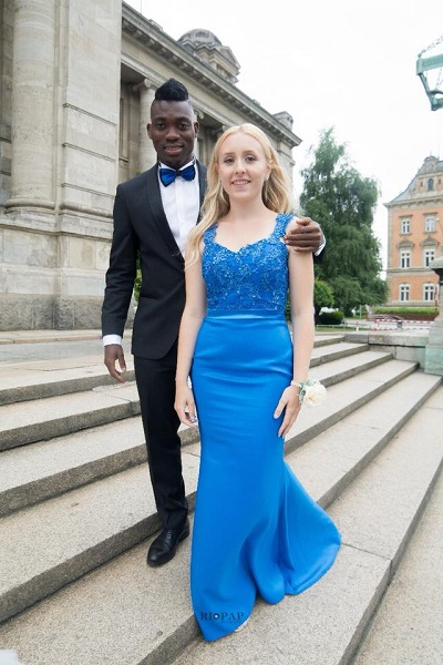'You Left All The Beautiful, Fresh and Humble Ladies To Marry A White Woman? Ghanaians Blast Christian Atsu For Marrying A White Lady