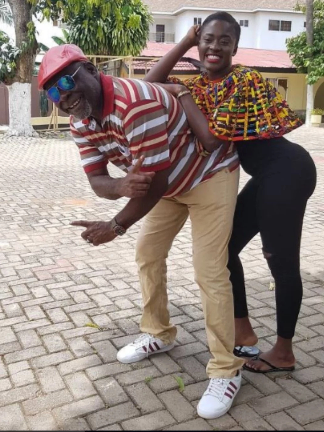 Kofi Adjorlolo And YOLO Star Fella Makafui 'Tango' In This Photo And Everyone Is Talking About It