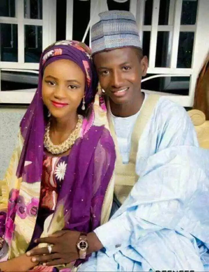 Meet The Youngest Couple Ever: 19-Year-Old Nigerian Boy Marries His 15-Year-Old Girlfriend (+Photos)