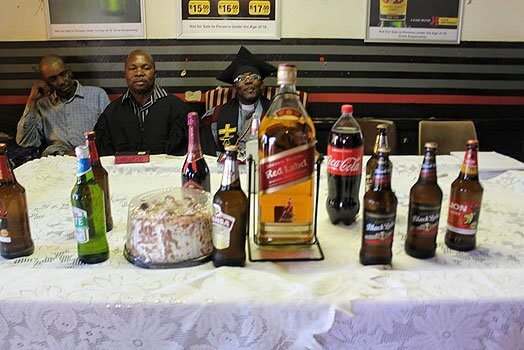 SHOCKER: See Photos From Church Where People Are Baptized Using Different Brands Of Beer And Alcohol