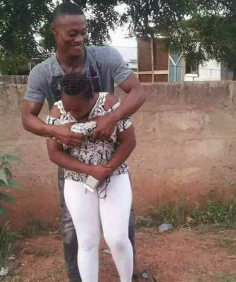 WTF: This Photo Of A Guy Squeezing His Girl's B00bs Goes Viral