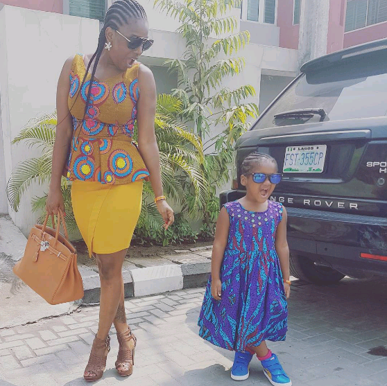 Check Out These Adorable Photos Of 2face's Daughter As She Turns A Year Older