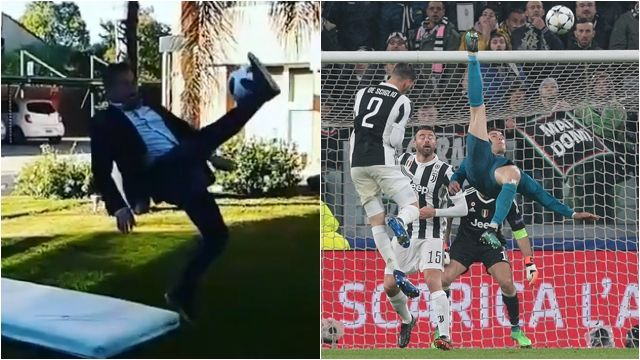 Viral VIDEO: Argentine Journalist Ends Up In Hospital After Attempting To Recreate Cristiano Ronaldo's Overhead Kick