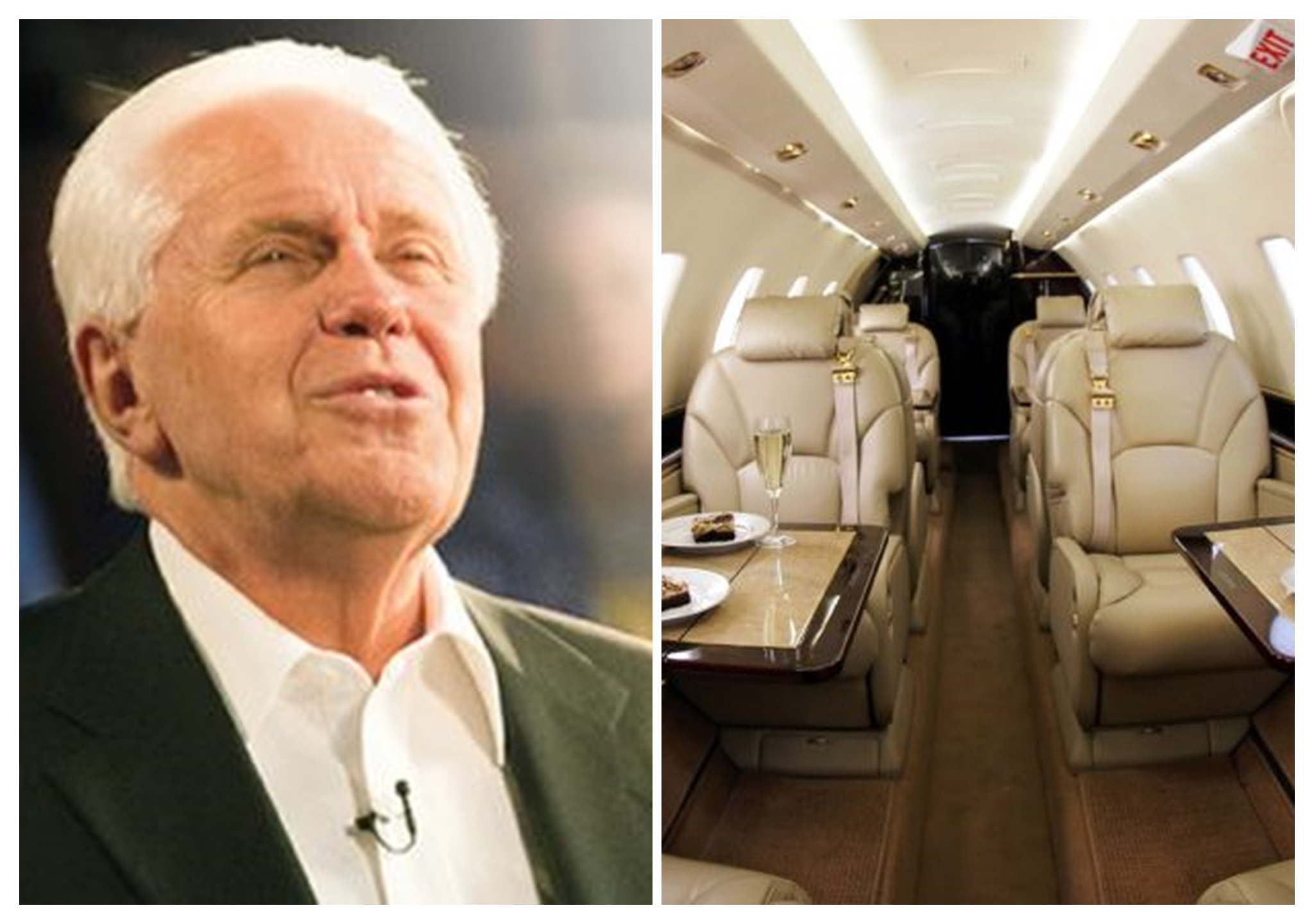 VIDEO: This Pastor Is Trending; He Told His Church Members To Donate $54M Because God Told Him To Buy A 4th Private Jet