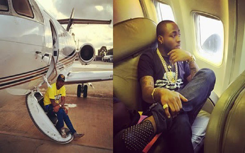 PHOTOS: Davido Buys Private Jet & It's A Must See