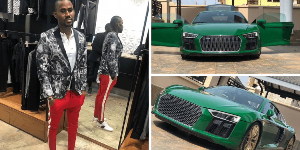 You Need To See Ibrah 1's New 'Toy'; A Brand New Audi R8 2017 Car (+Photos)