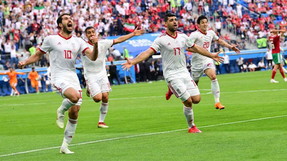 Own Goal From Aziz Bouhaddouz Gives Iran A Dramatic Win Over Morocco