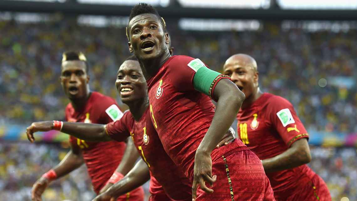 'I Hold The Record, Not Cristiano Ronaldo'- Asamoah Gyan